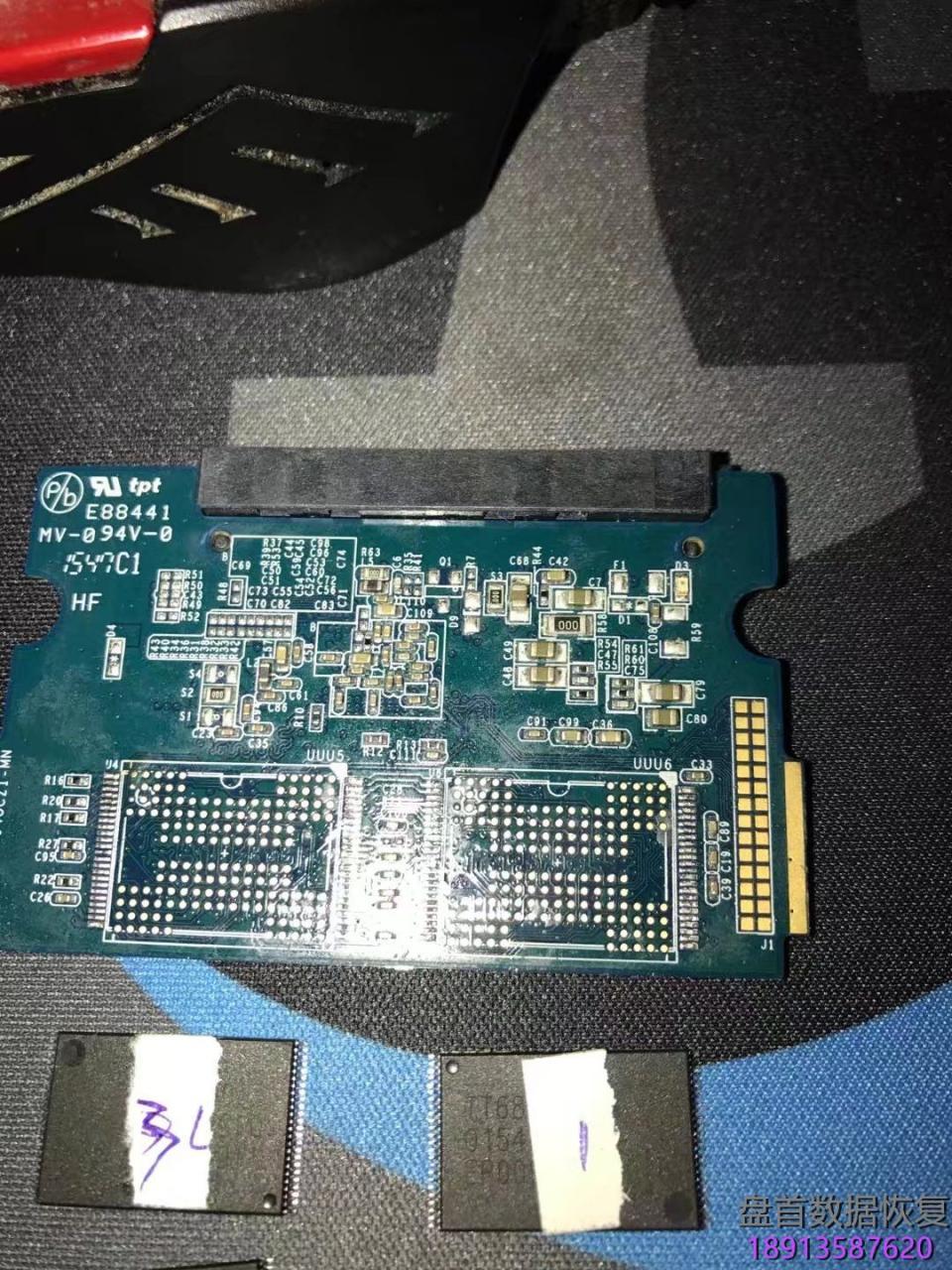 影驰铁甲战将系列120G固态硬盘掉盘无法识别不读盘PS3109主控芯片读取Flash芯片恢复成功