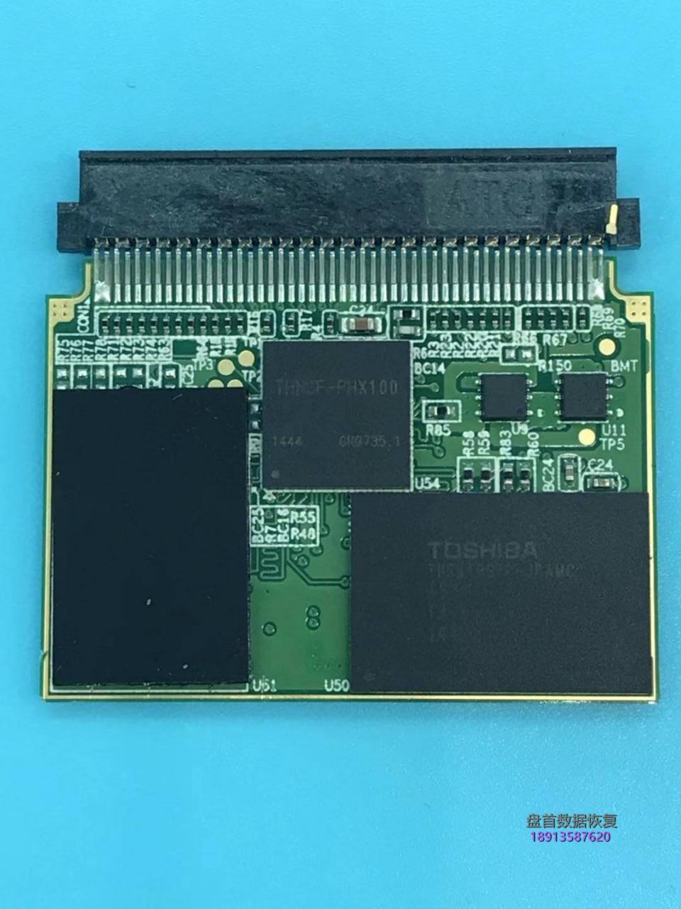 东芝32G EXCERIA CF存储卡无法识别相机里读不出数据电脑里显示无媒体CF存储卡数据修复