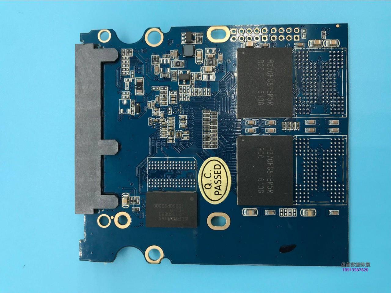 SM2256K方正飞天240gSSD固态硬盘掉盘无法识别不读盘开机卡LOGO数据恢复
