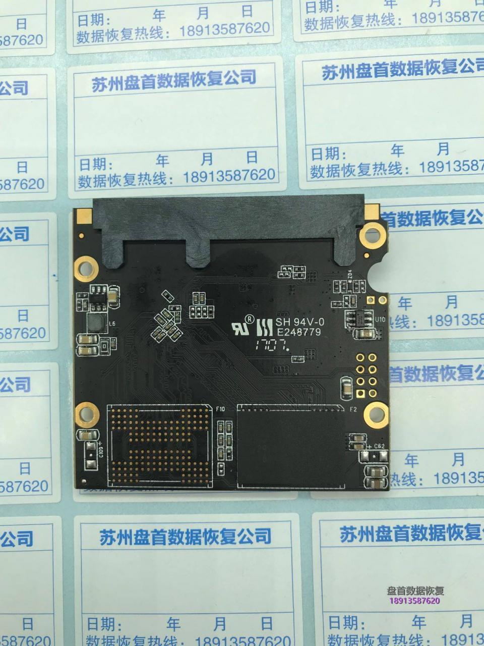成功修复七彩虹SL500固态硬盘不认盘无法识别SM2258XT主控美萍数据库恢复