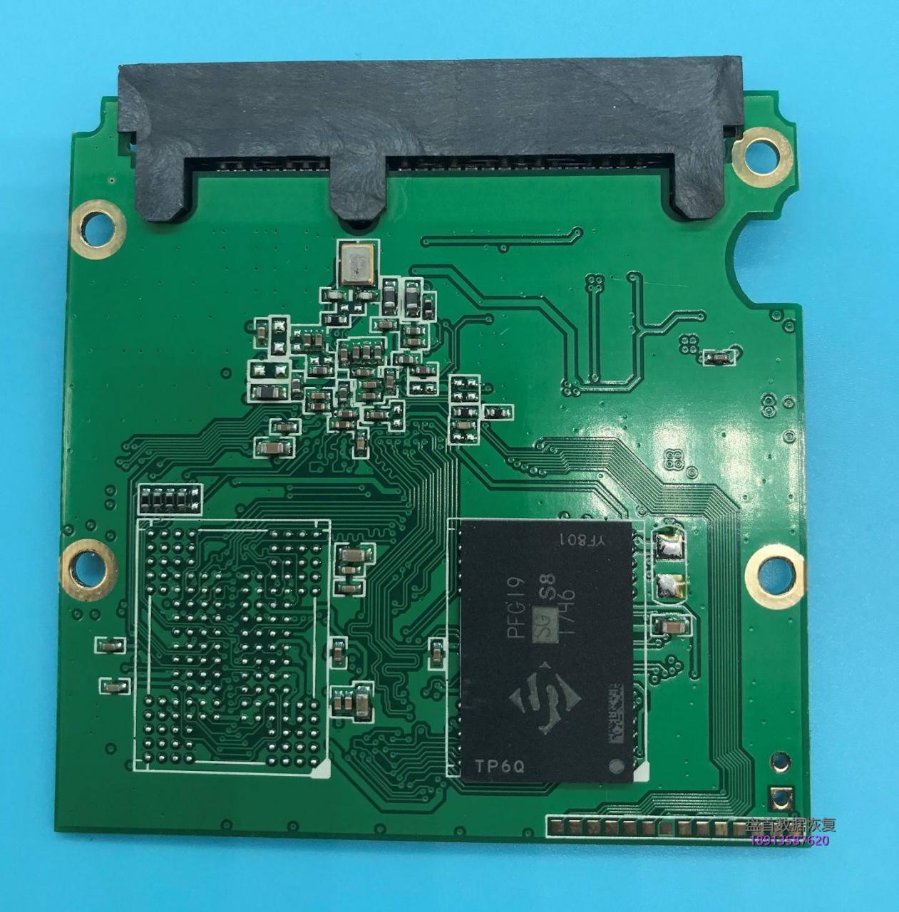 initio主控INIC-5081实际为PS3111金胜维128GSSD固态硬盘用得好好的突然损坏了不读盘了数据完美恢复