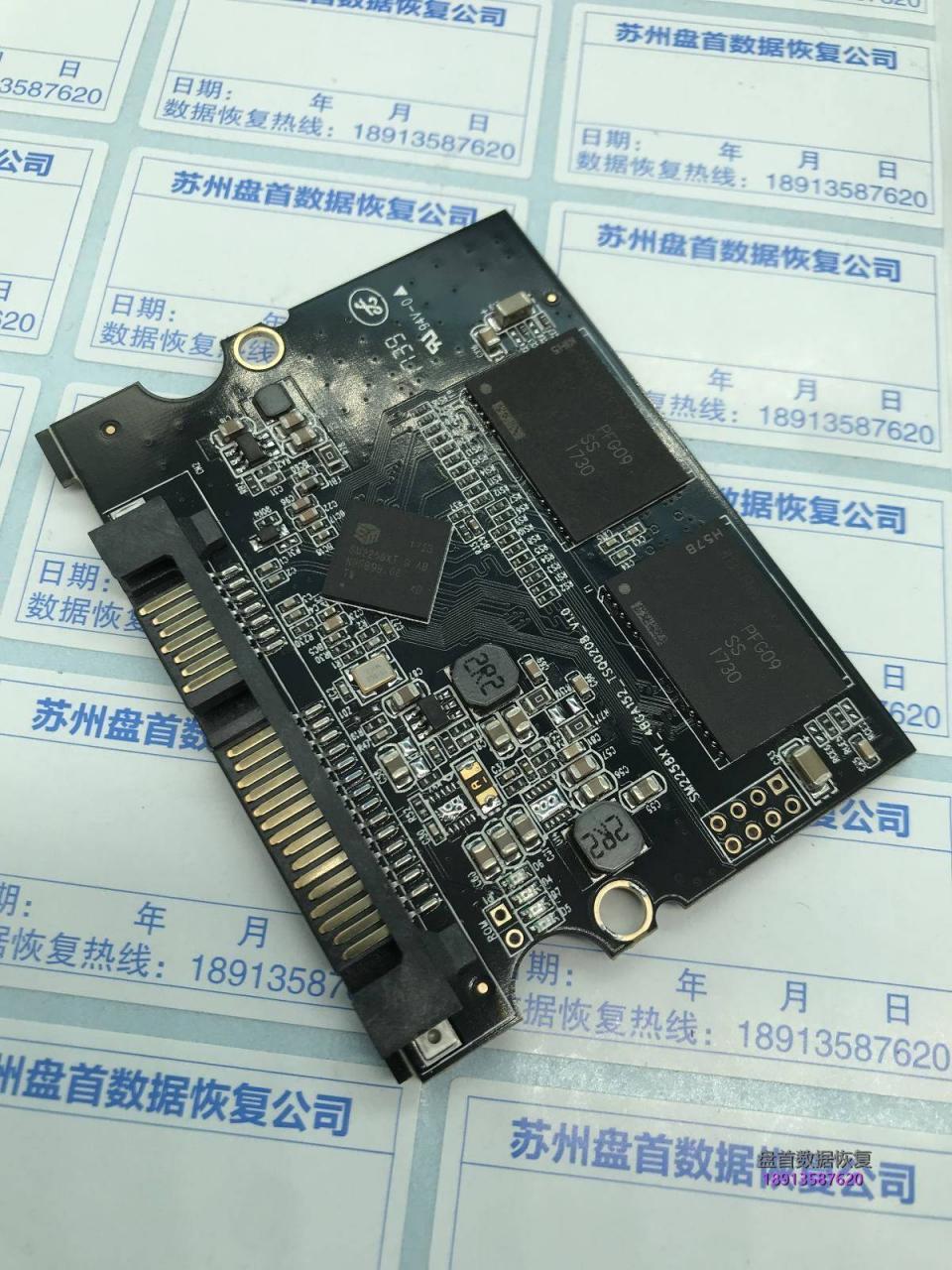 德乐T-1 SSD掉盘无法识别SM2258XT芯片数据恢复