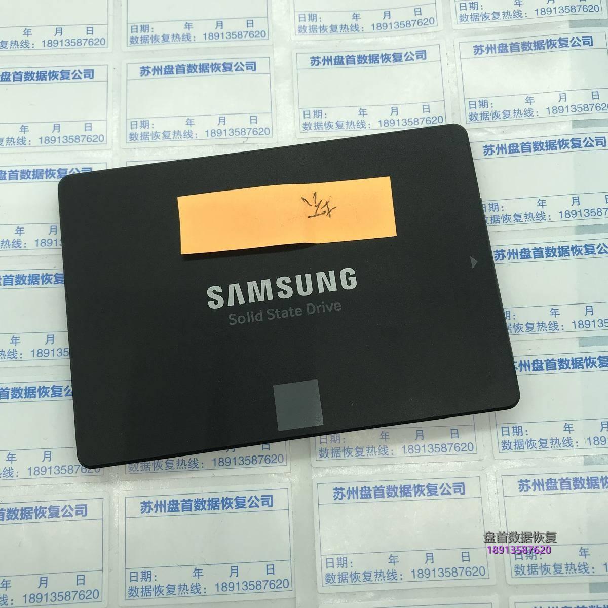 三星850 EVO掉盘无法识别主控S4LN062X01-Y030 SSD数据恢复成功