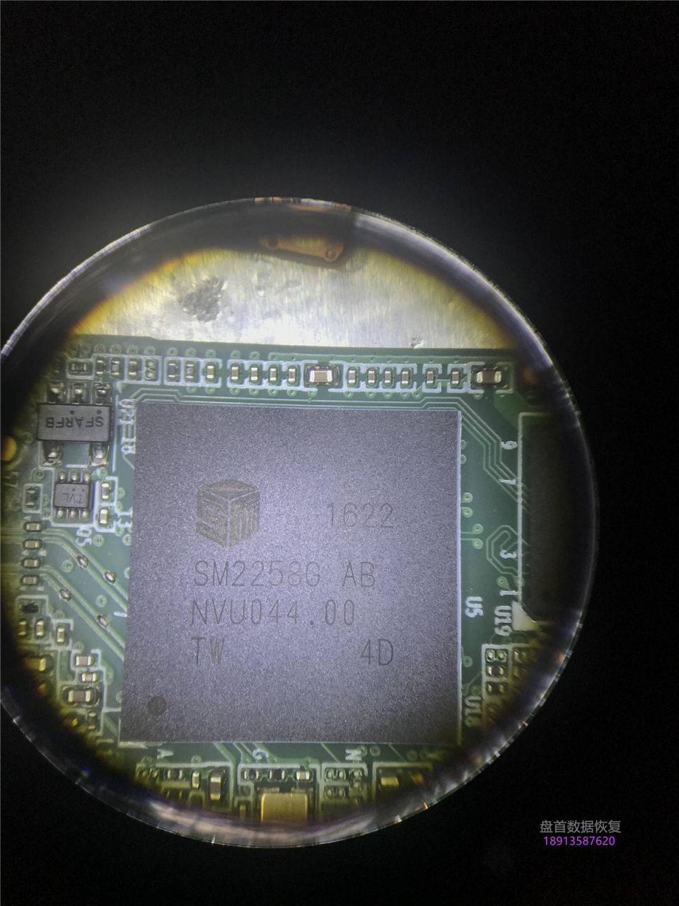 SSDSCKKF256H6英特尔M.2掉盘无法识别SM2258G主控数据恢复成功