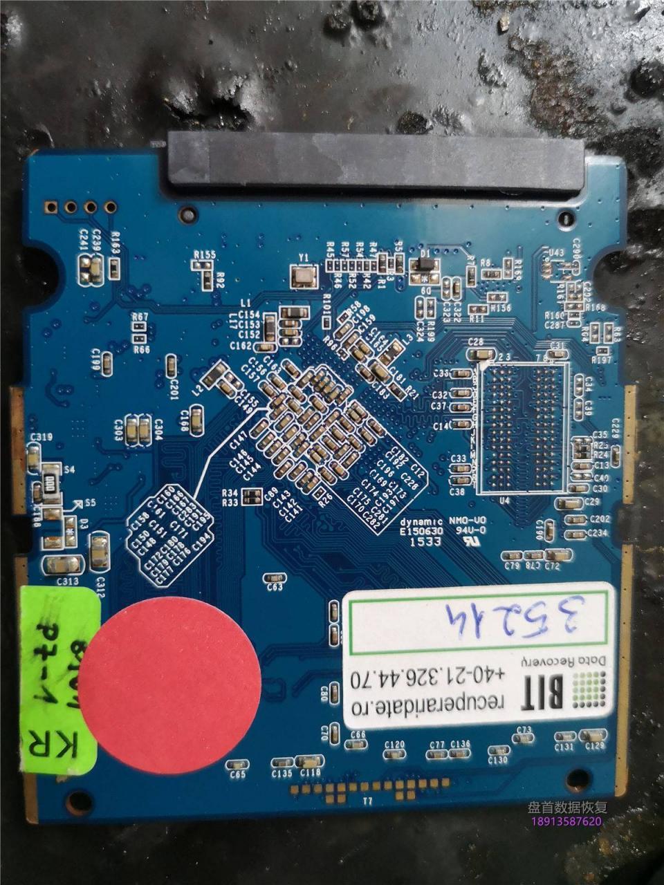 成功恢复一块东芝Q300固态硬盘这块硬盘在罗马尼亚,德国,英国,和日本等国外专业数据恢复公司全部恢复失败