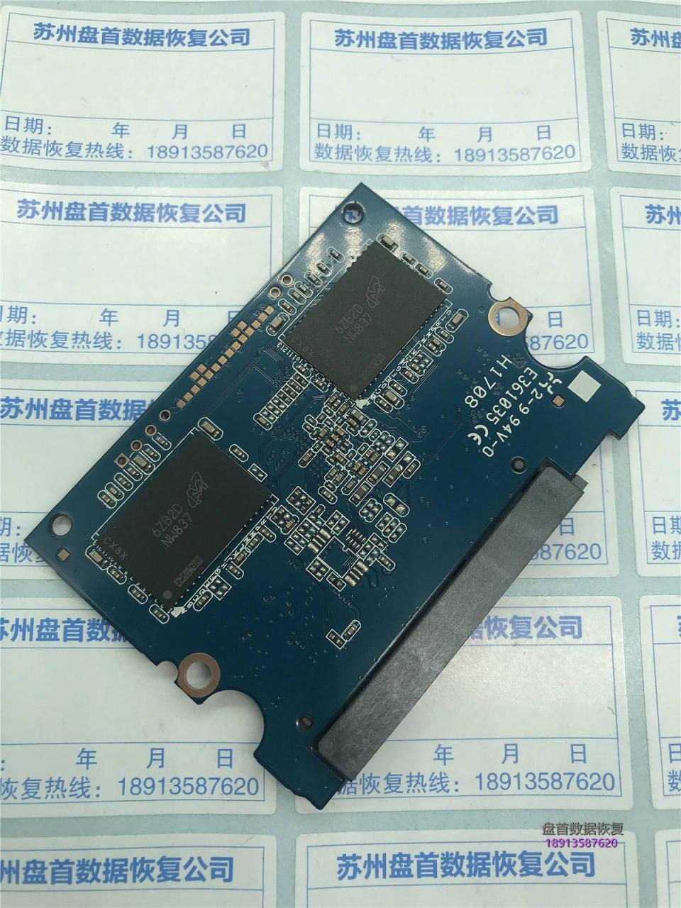金士顿SSD固件门通病使用PC3000 SSD数据恢复
