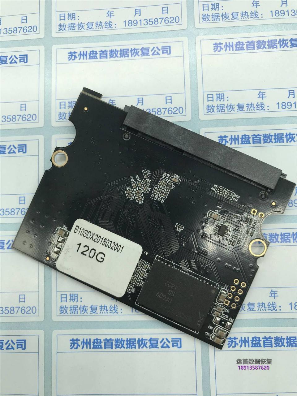 主控SM2258XT二次恢复德乐SSD能扫描全绿不能读扇区故障