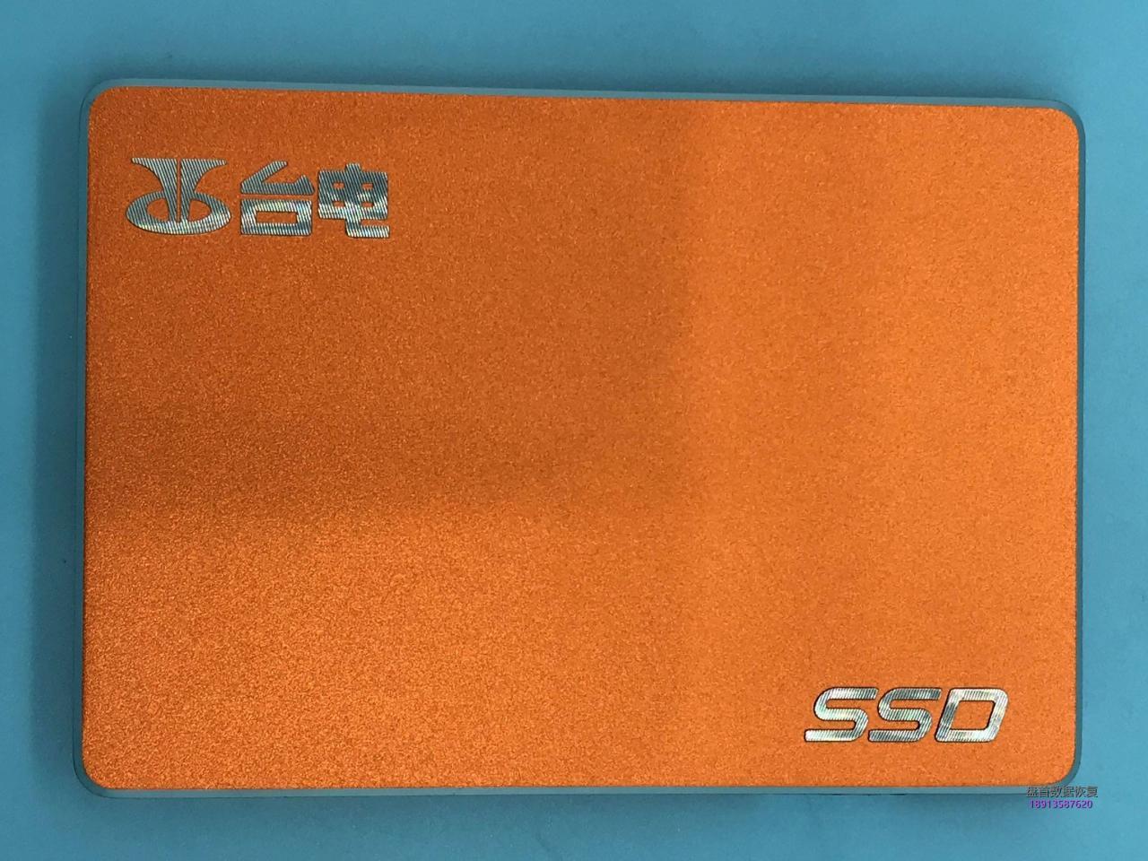 成功恢复SD120GBS500台电120G固态硬盘突然损坏后SSD硬盘就无法识别了