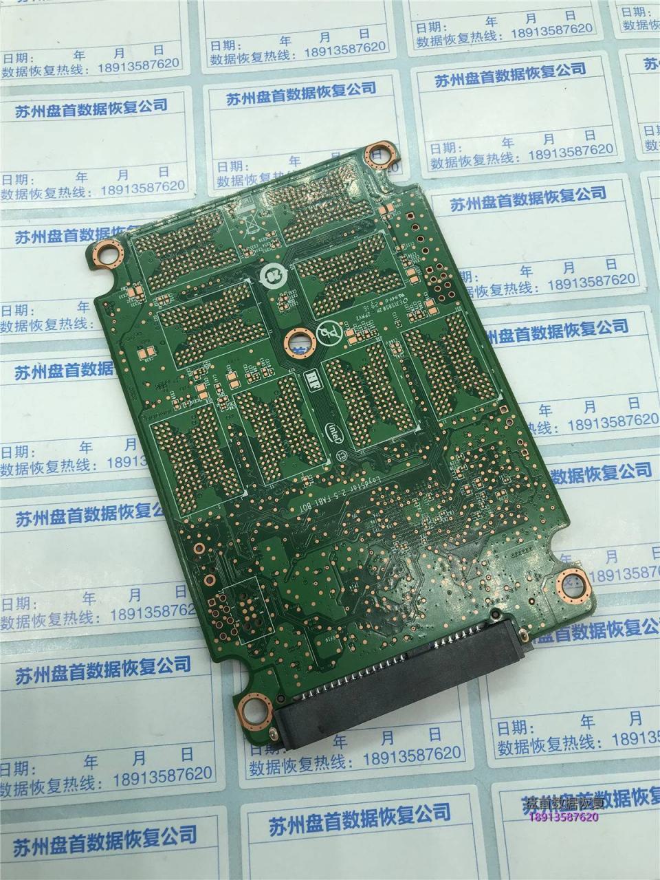 二次恢复英特尔5400s掉盘无法识别SSDSC2KF256H6L不识别盘数据恢复成功