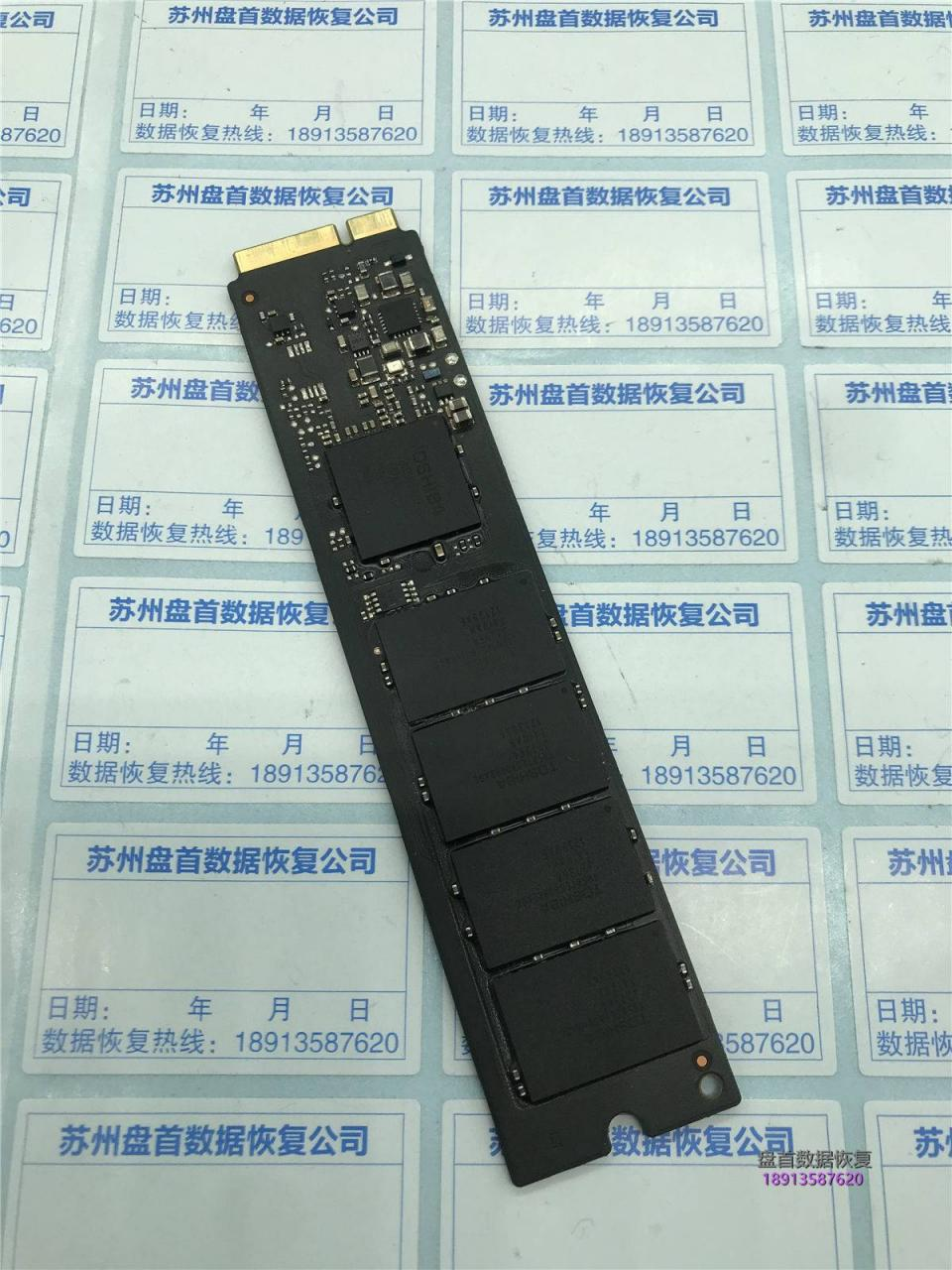 MacBook air固态硬盘损坏数据恢复成功主控TC58NC5HJ8GSB东芝SSD
