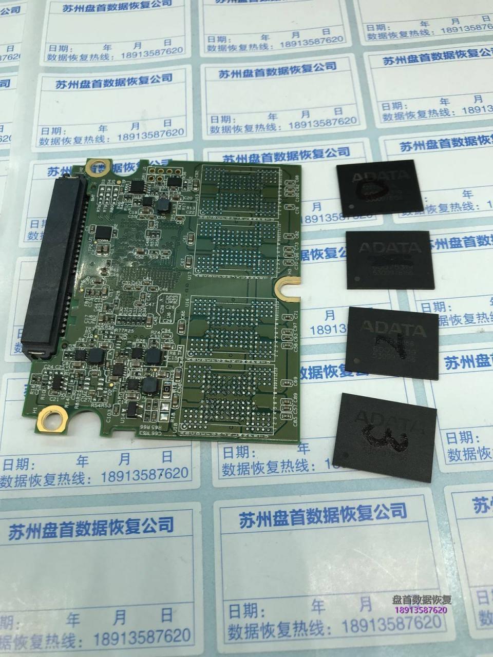威刚SP600掉盘无法识别JMF670H主控芯片级数据恢复成功