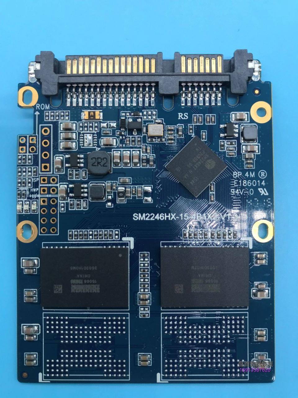 SM2246XT方正飞天SSD突然坏了无法识别读不到数据SSD修复成功