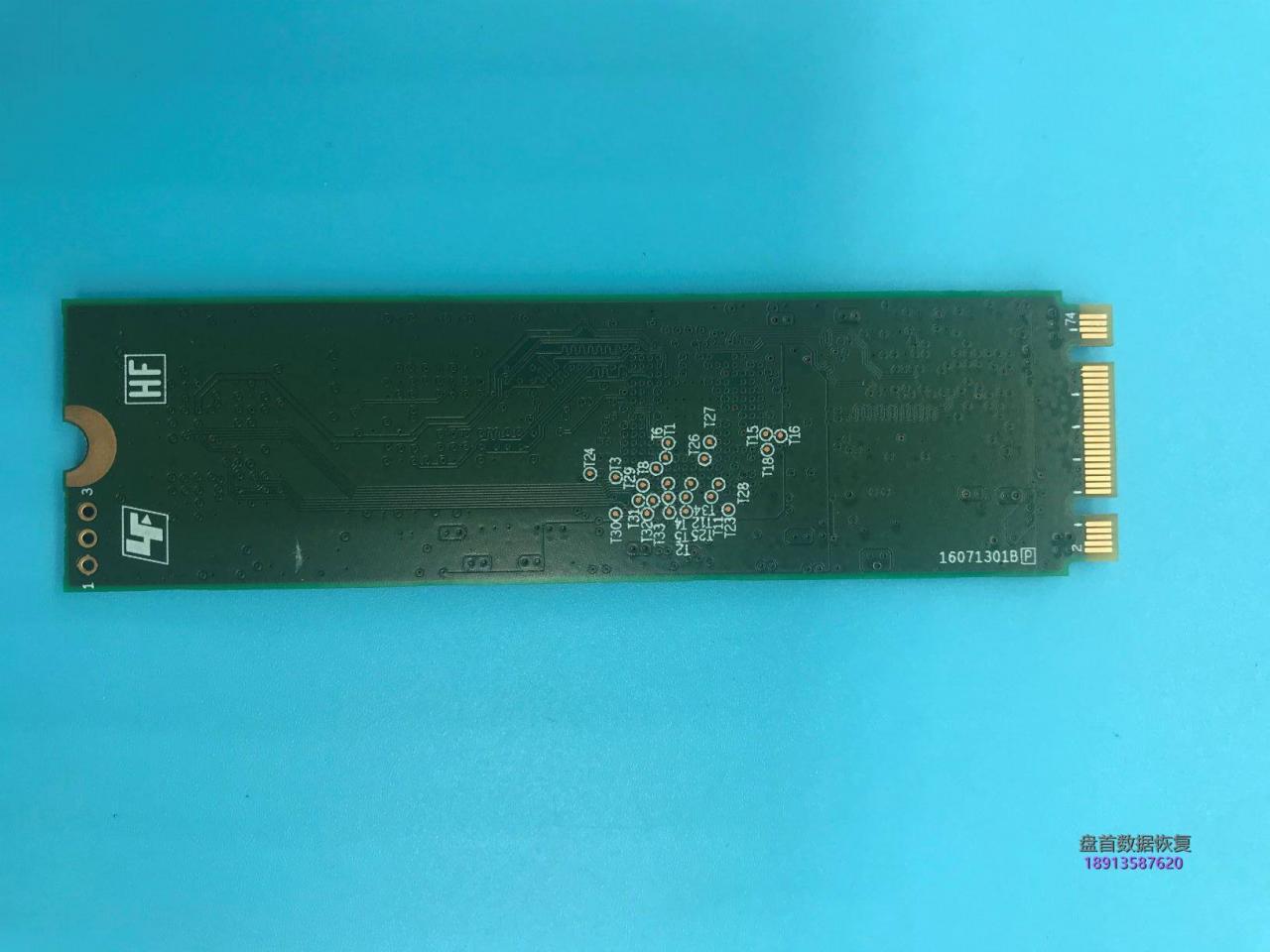 建兴cv6-8Q128无法识别开机卡LOGO界面不认盘主控SM2254G固态硬盘数据恢复成功