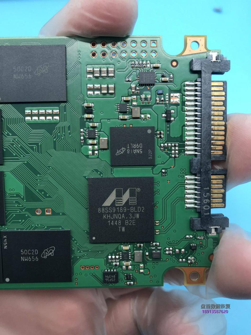 CT250MX200SSD1英睿达MX200掉盘无法识别读不出数据恢复成功