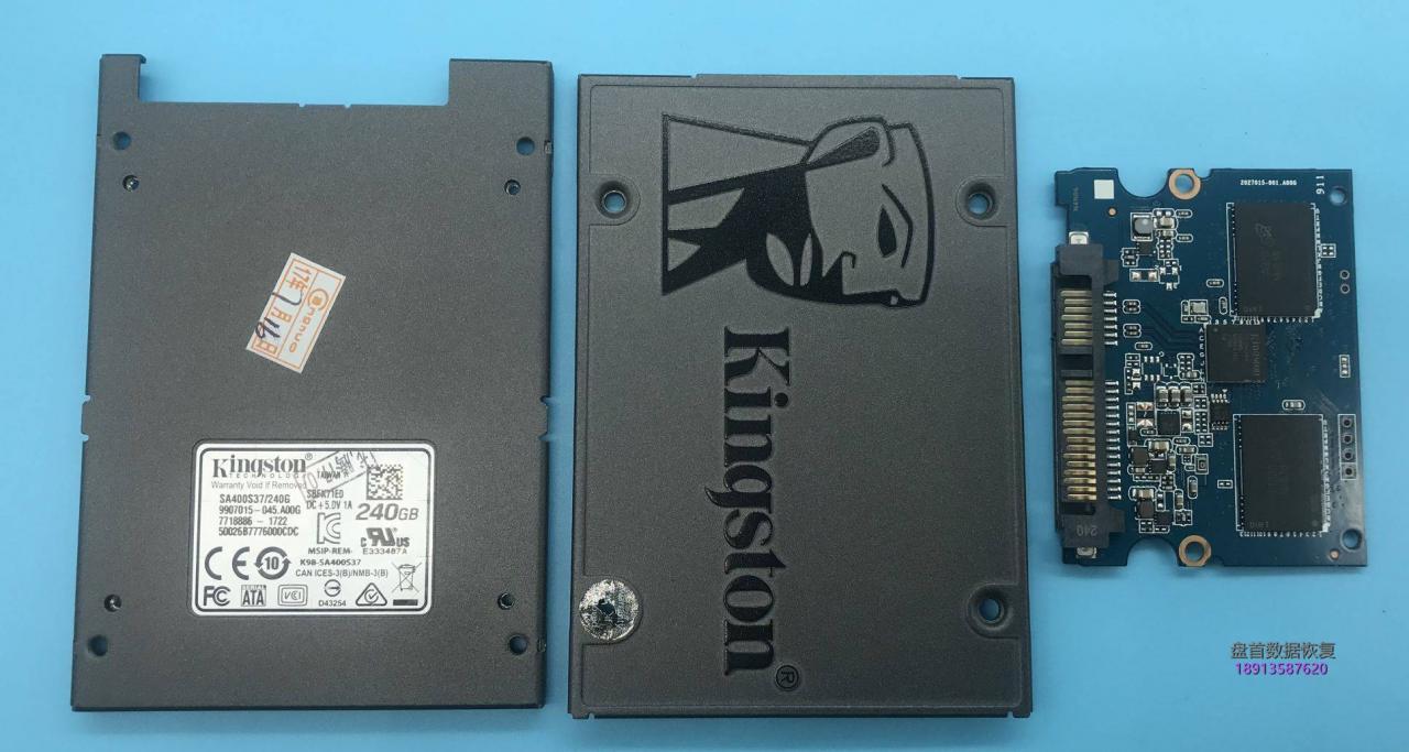 金士顿SA400S37/240G固态硬盘突然损坏变成SATAFIRM S11无法读取数据恢复成功