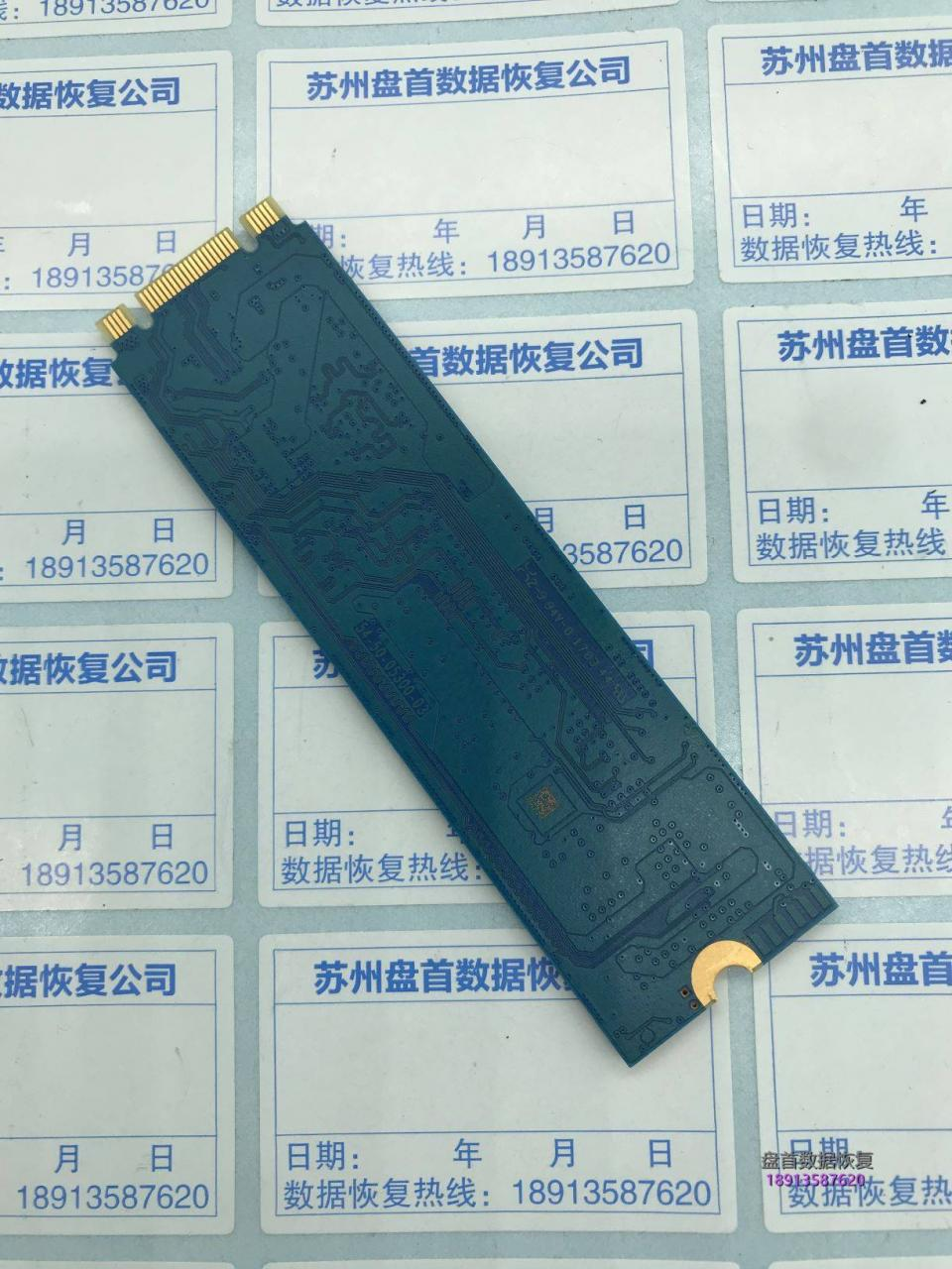 SanDisk闪迪X400固态硬盘无法识别读不到盘主控Marvell 88SS1074数据恢复成功
