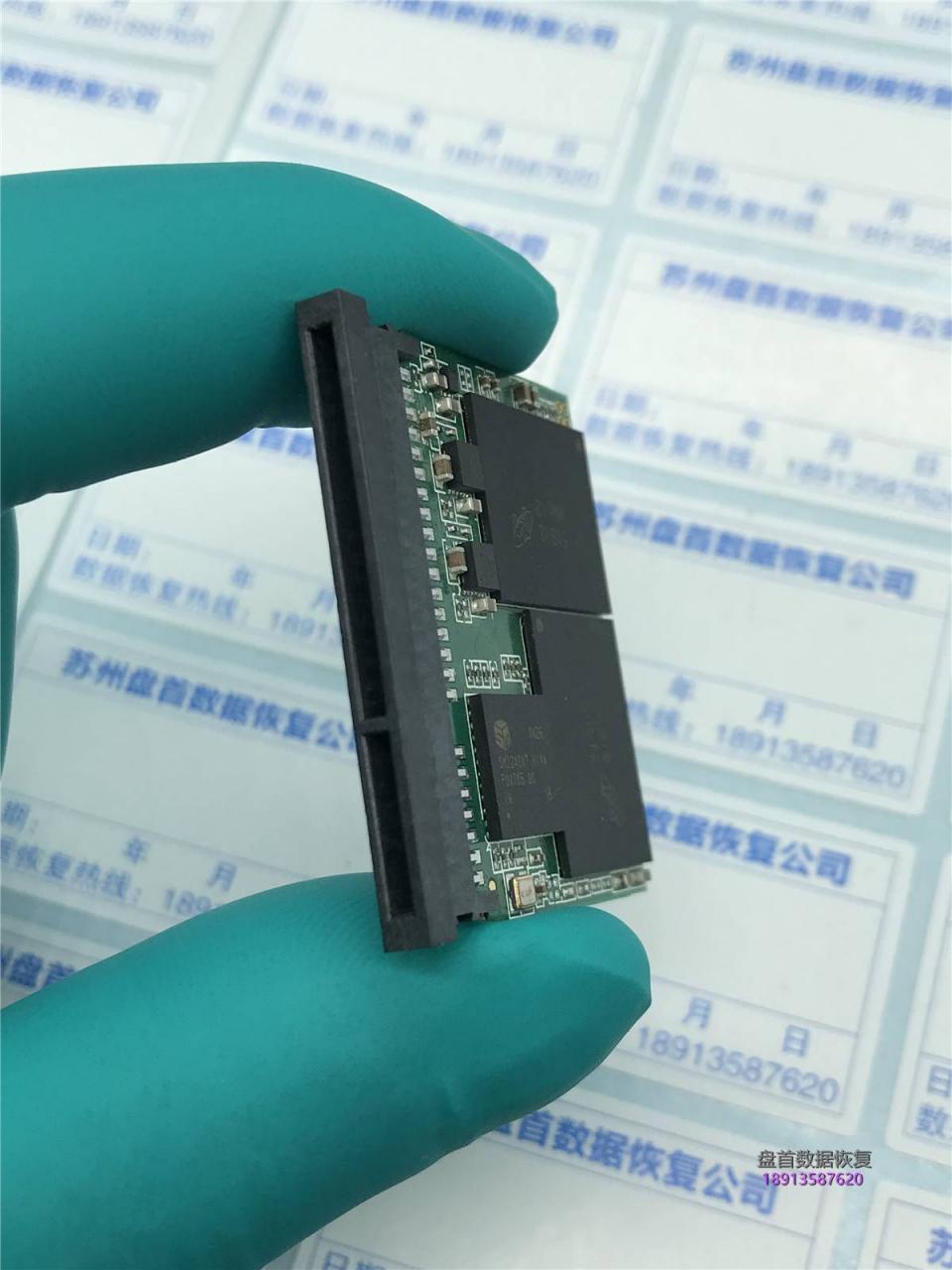 Lexar 雷克沙Professional 3400x CFast 2.0损坏无法识别数据恢复成功
