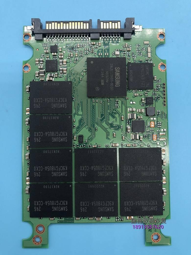 完美修复三星840固态硬盘无法识别不认盘MZ7TD256HAFV主控S4LN021X01-8030SSD数据恢复