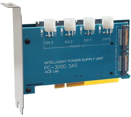 PC3000-SAS/SCSI(蓝卡)服务器硬盘数据恢复