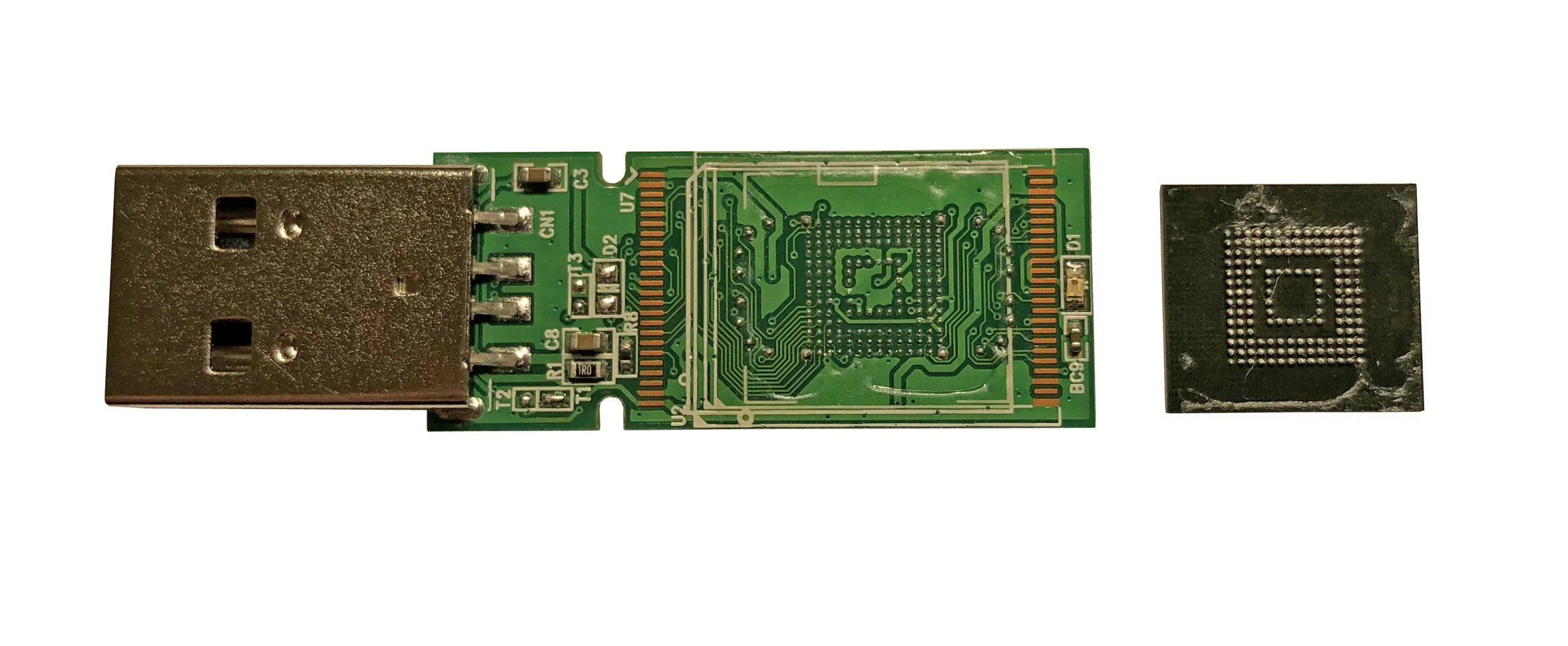 PC-3000 Flash如何将COB(黑牛屎芯片)的存储芯片从NAND闪存驱动器中恢复数据