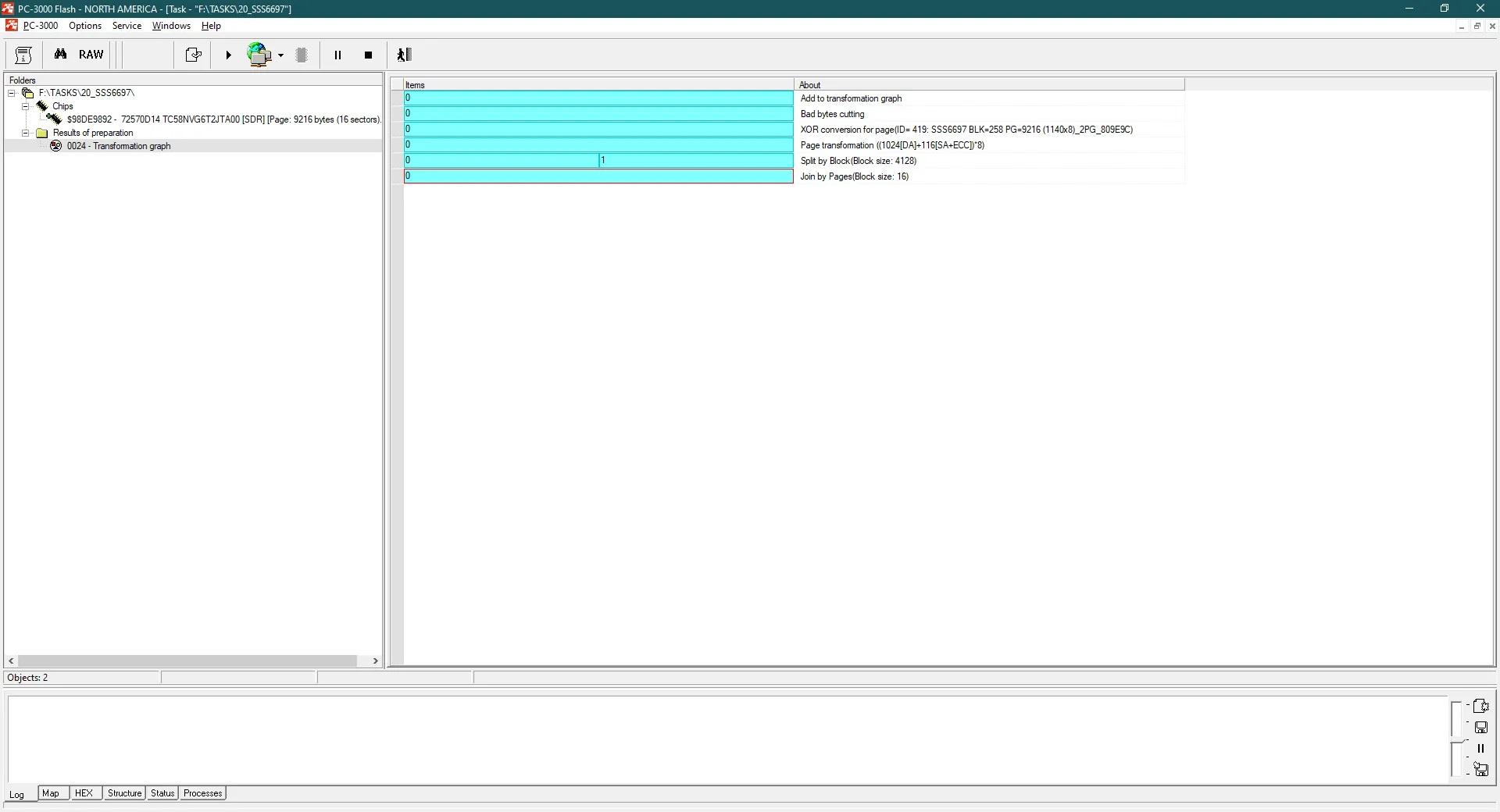 PC-3000 Flash基于文件系统的虚拟映像