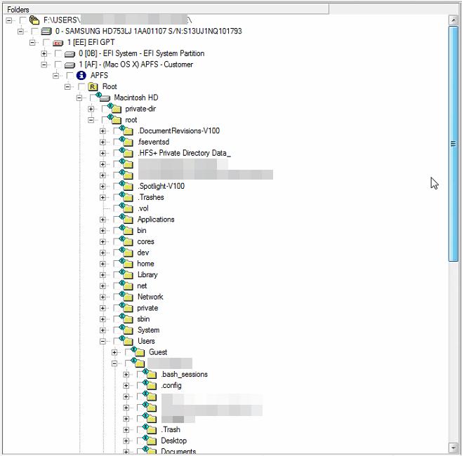 PC-3000 Data Extractor APFS第1部分